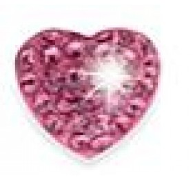 BIOJOUX 2100 CUORE ROSA 10MM