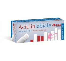 ACICLINLABIALE MATITA 2,5G5%